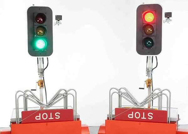 Portable-Traffic-signals