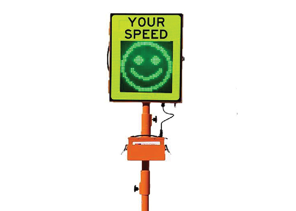 eSAS electronic speed awareness sign