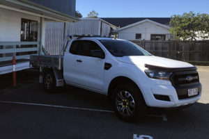 civil ute for hire