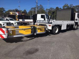 Trafquip equipment hire | Scorpion TMA